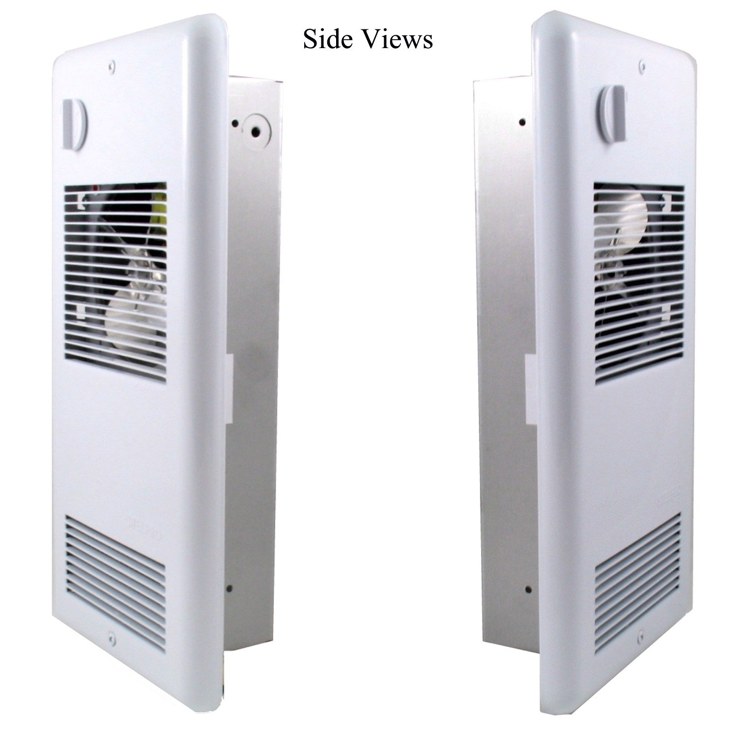 High Quality Bathroom Wall Heater & Free Thermometer Bundle: Heats up to 150 sq ft ultra-quiet electric wall mounted heater. Safe & reliable heating, 120 volts puts out 1500 watts, energy efficient heater with a built-in thermostat