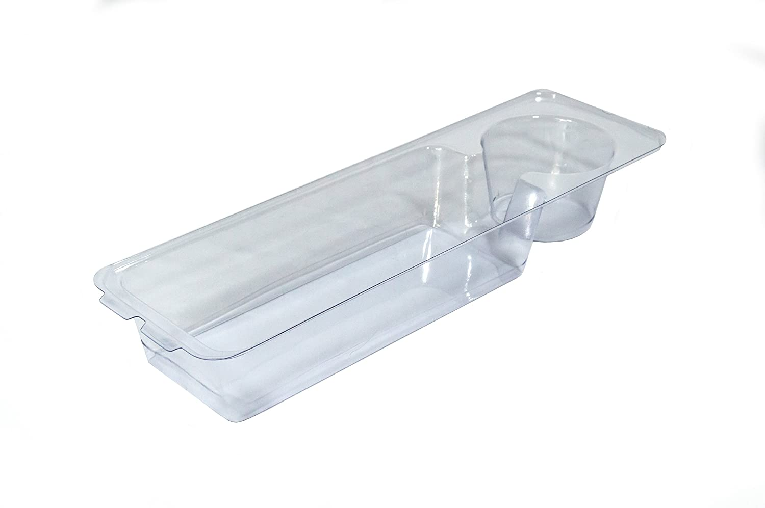 Heavy Duty Clear Plastic Insert/Tray/Cup Holder for Walker Basket