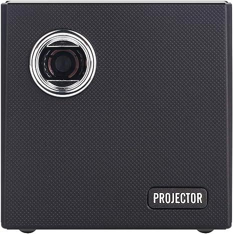 Mini Proyector Portátil DLP Video Projector Pocket Size Batería ...