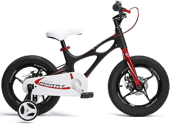YUHT Bicicleta Infantil de 41 cm, Ligera, Marco de magnesio, con ...