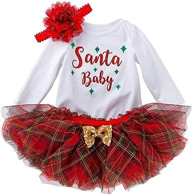 POLP Vestidos de Fiesta Bebe Niñas Tutu Conjuntos Camisetas de ...