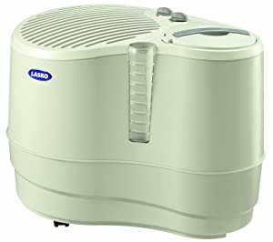 Lasko 1128 Evaporative Recirculating Humidifier, 9-Gallon