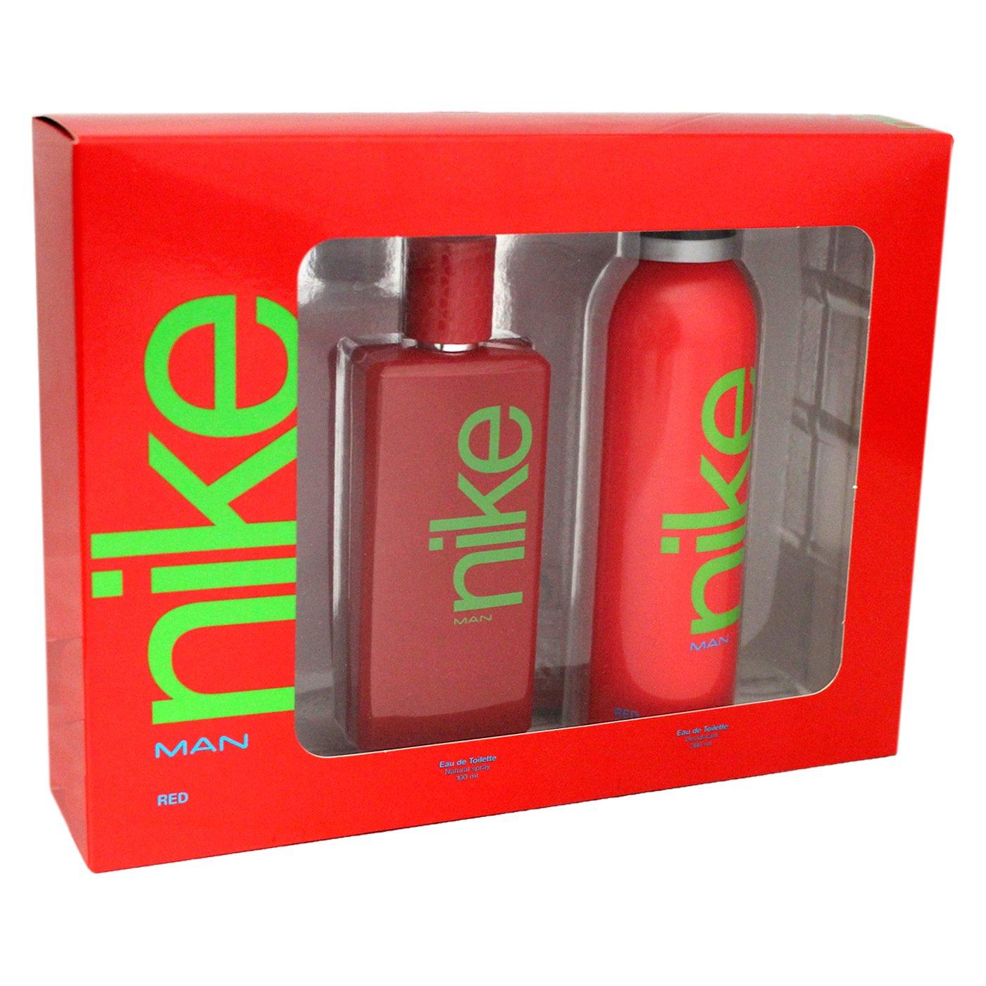 413b94e069e1a Nike Red Man Edt 100 VP + Deo 200 VP: Amazon.co.uk: Beauty