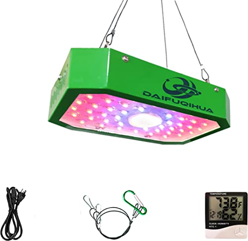 DAIFUQIHUA Fully dimmable 1000w LED Grow Light, Growing Lamps for Greenhouse Plants, Double Chips for Indoor Plants, Full Spectrum for Fruits Veg and Flowers Growing
