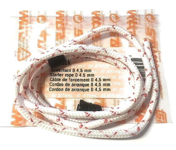 Stihl - Cuerda (4,5 mm, TS 350 TS 360 TS 400 TS 410 TS 420 460 510 ...