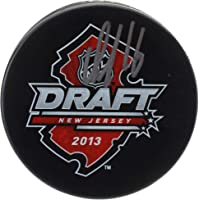 $50 » Aleksander Barkov Florida Panthers Autographed 2013 NHL Draft Logo Hockey Puck - Fanatics Authentic Certified