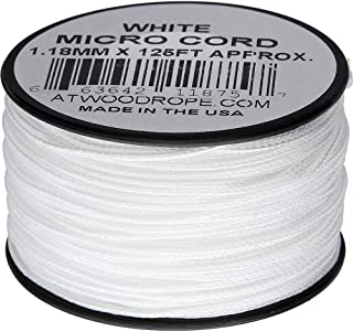 product image for Atwood Rope MFG Micro Cord 125ft White