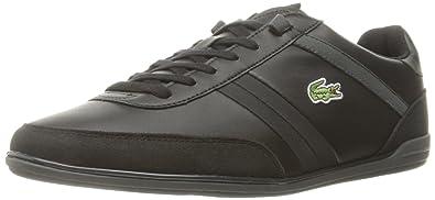 Lacoste Men's Giron 316 1 SPM Fashion Sneaker, Black, ...