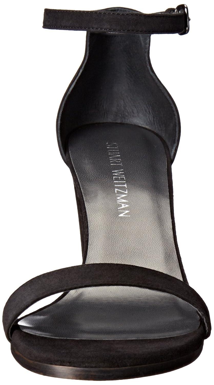 Stuart Sandal Weitzman Women's Nearlynude Heeled Sandal Stuart B0059CHA98 9.5 W US|Black 22cb99