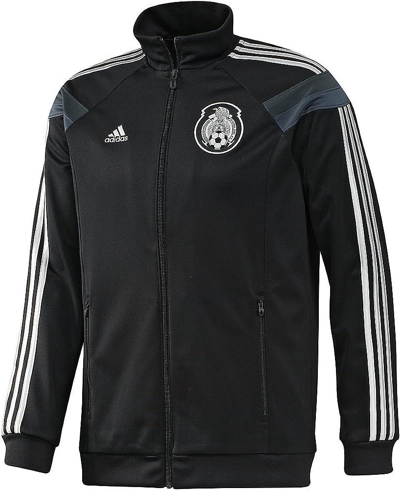 89157c4e1 Amazon.com : adidas Mexico Anthem Track Top Black Jacket (XS ...