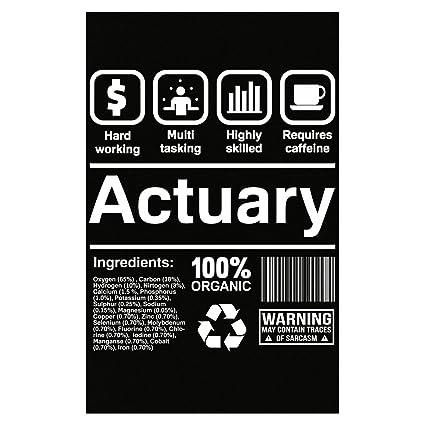 Amazon.com: Esparosa Actuary Gifts Funny Job Description Actuary ...