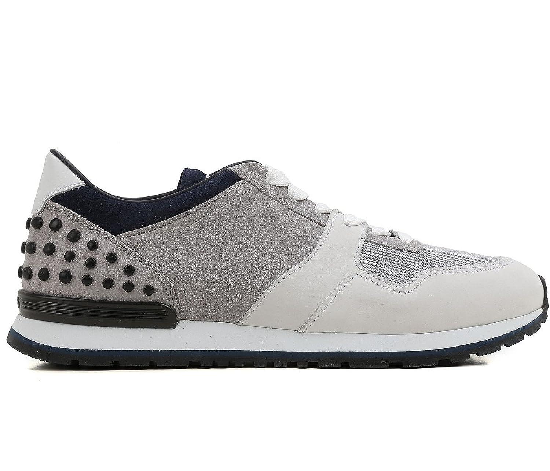 Tod's Zapatillas Para Hombre Gris Grigio - Bianco - Blue 43 EU - 9 UK