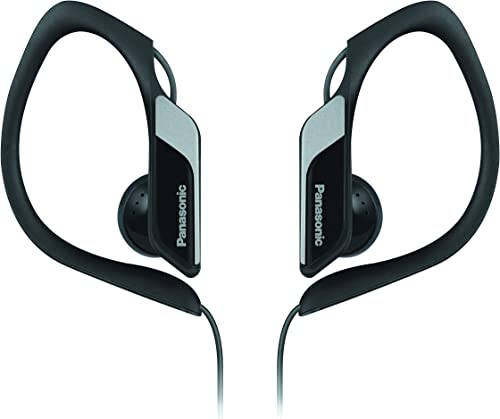 Panasonic RP-HS34E-K BLACK Sport Headphones RPHS34