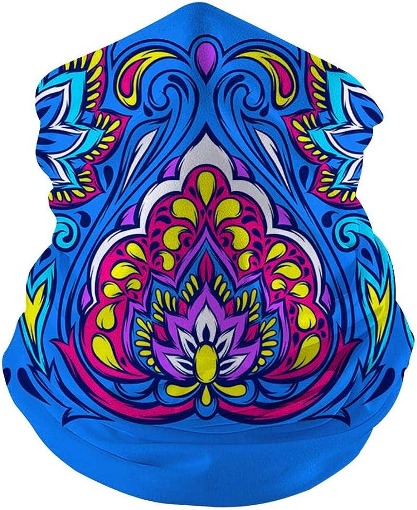 Custom Abstract Color Ink Multifunctional Seamless Bandanas Face Mask Headband Scarf Headwrap Neck