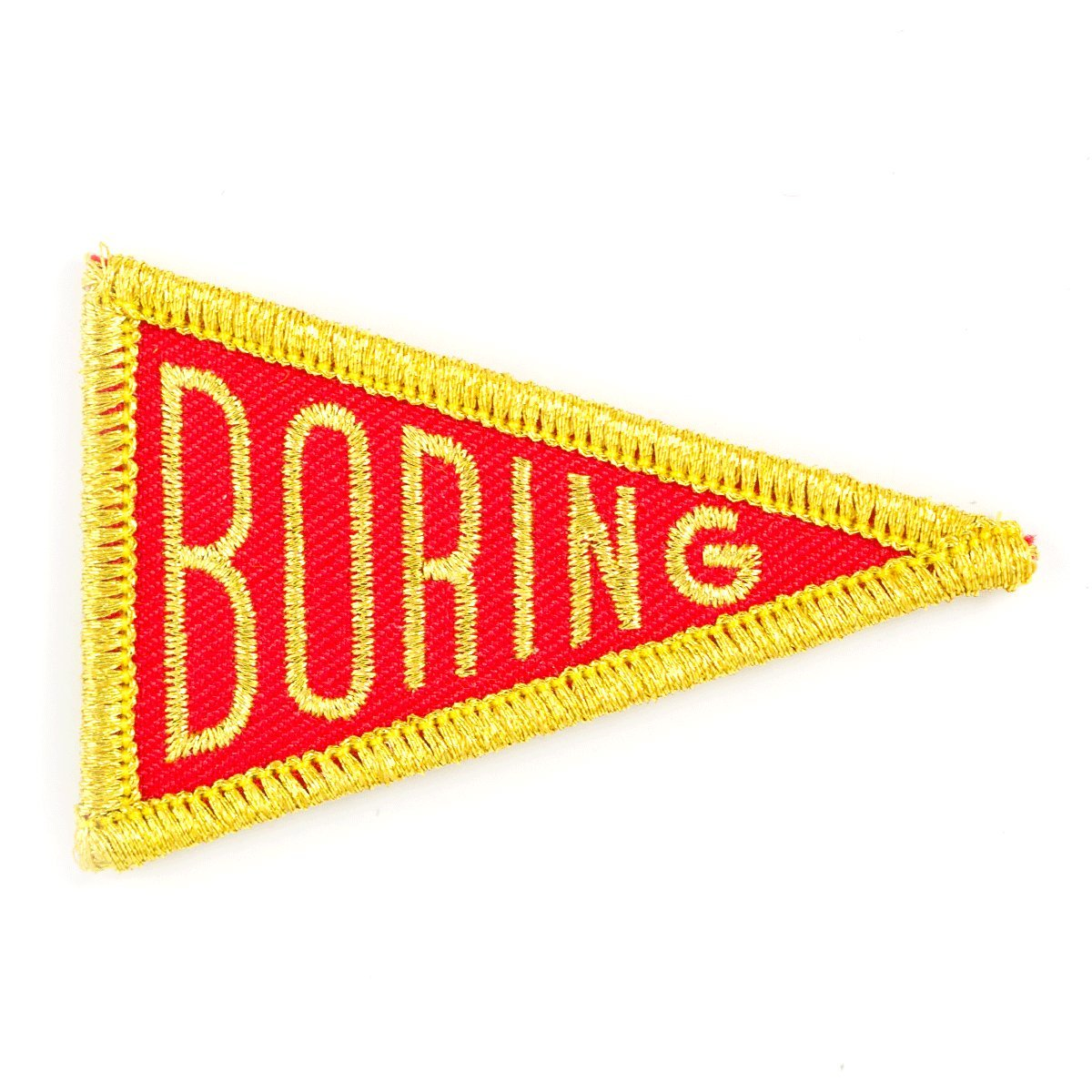 These Are Things Boring Embroidered Iron On Or Sew On Patch by These Are Things