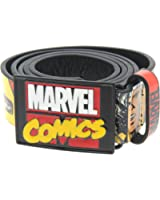 Marvel Comics - Cintura da uomo, colore: Nero/Multicolore,
