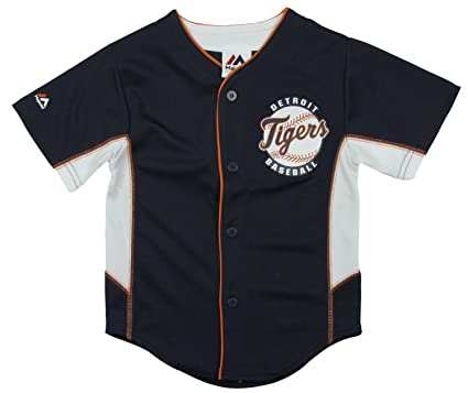 quality design ec2a7 ca1ec Detroit Tigers MLB Little Boys Team Jersey - Blue