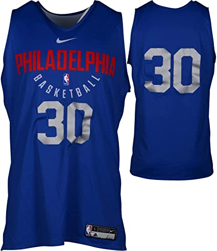 ced714fde Furkan Korkmaz Philadelphia 76ers Practice-Used  30 Reversible Jersey from  the 2017-18 NBA Season - Size L+2 - Fanatics Authentic Certified at  Amazon s ...