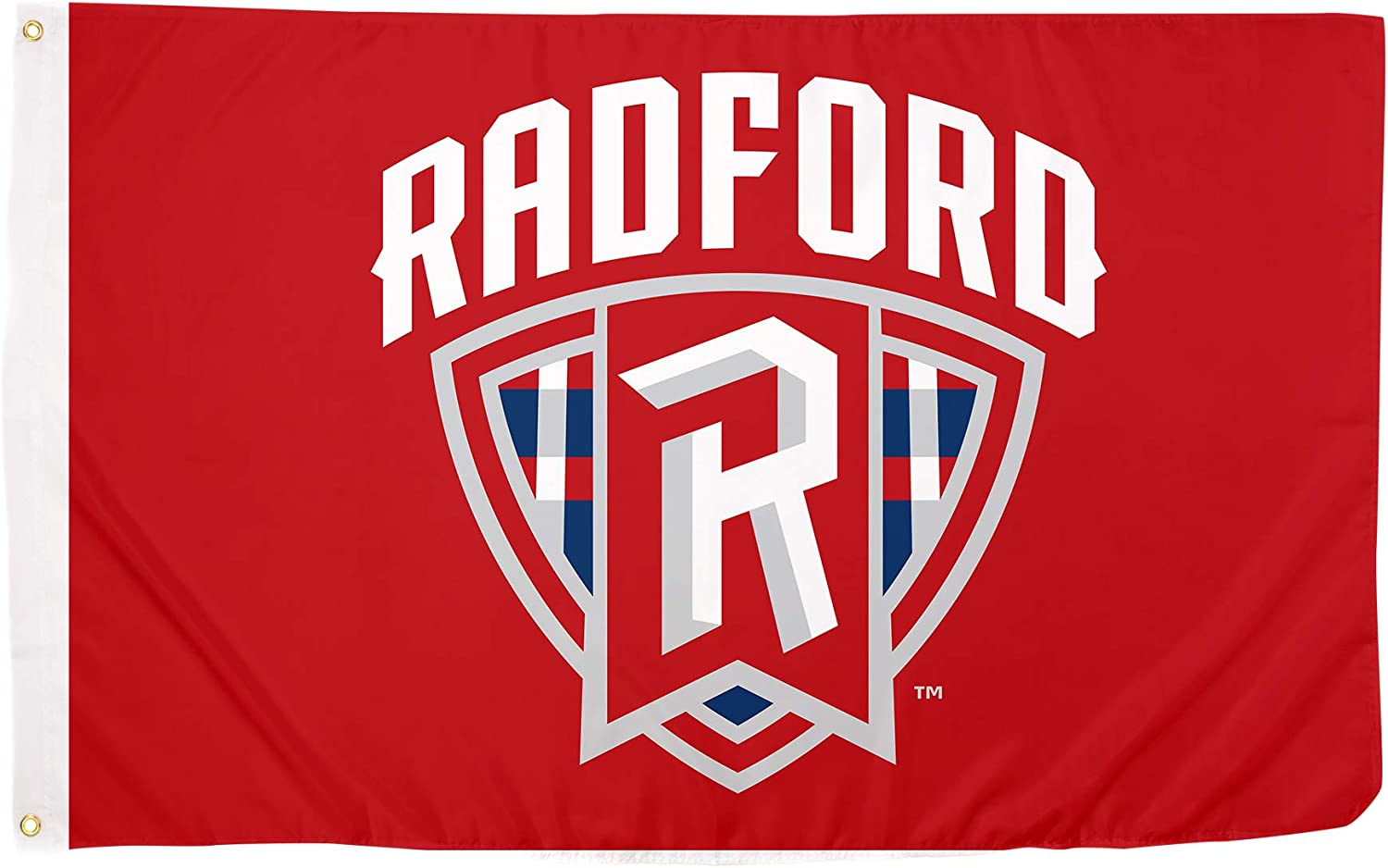 Desert Cactus Radford University Highlanders NCAA 100% Polyester Indoor Outdoor 3 feet x 5 feet Flag