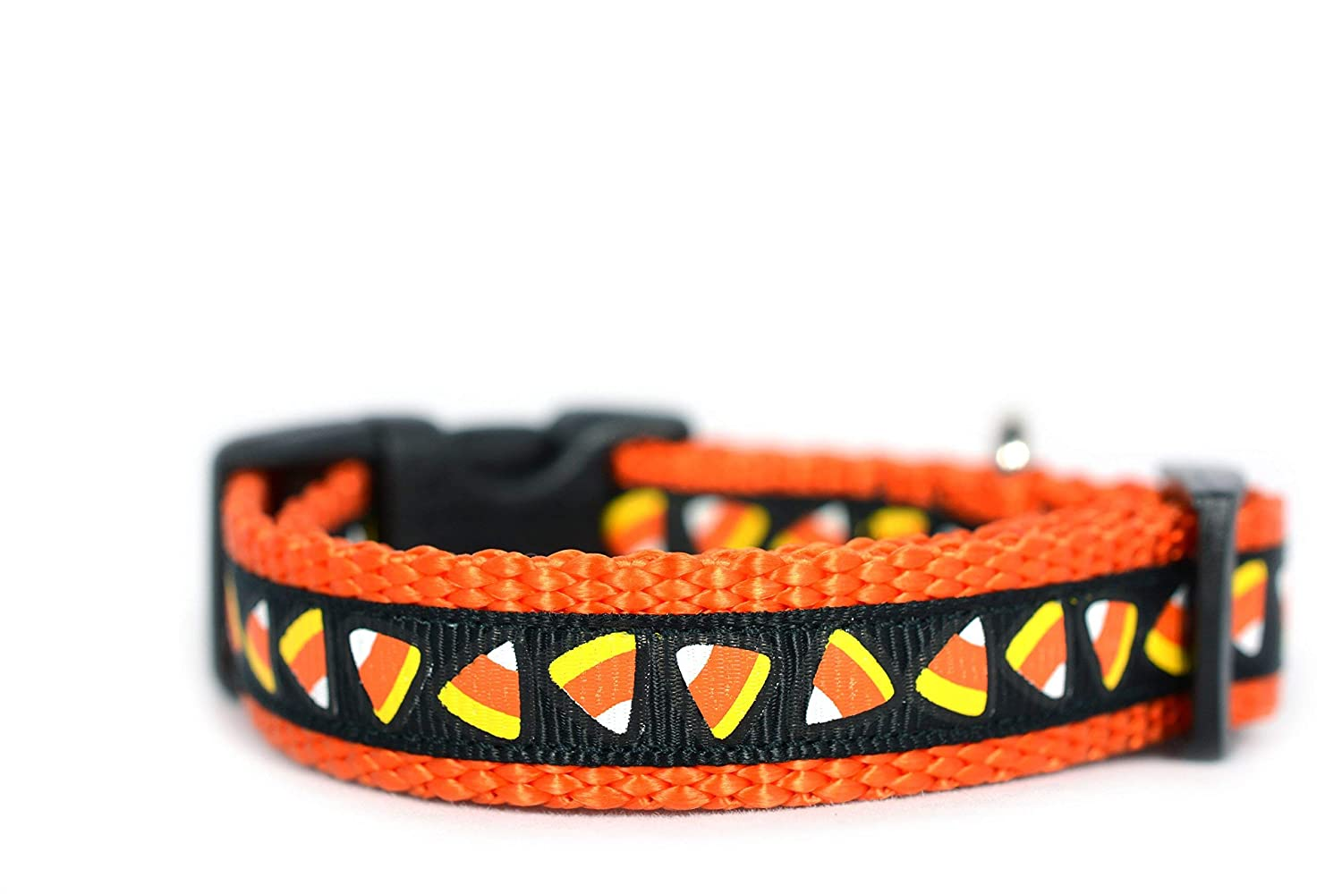 Candy Corn Dog Collar Halloween