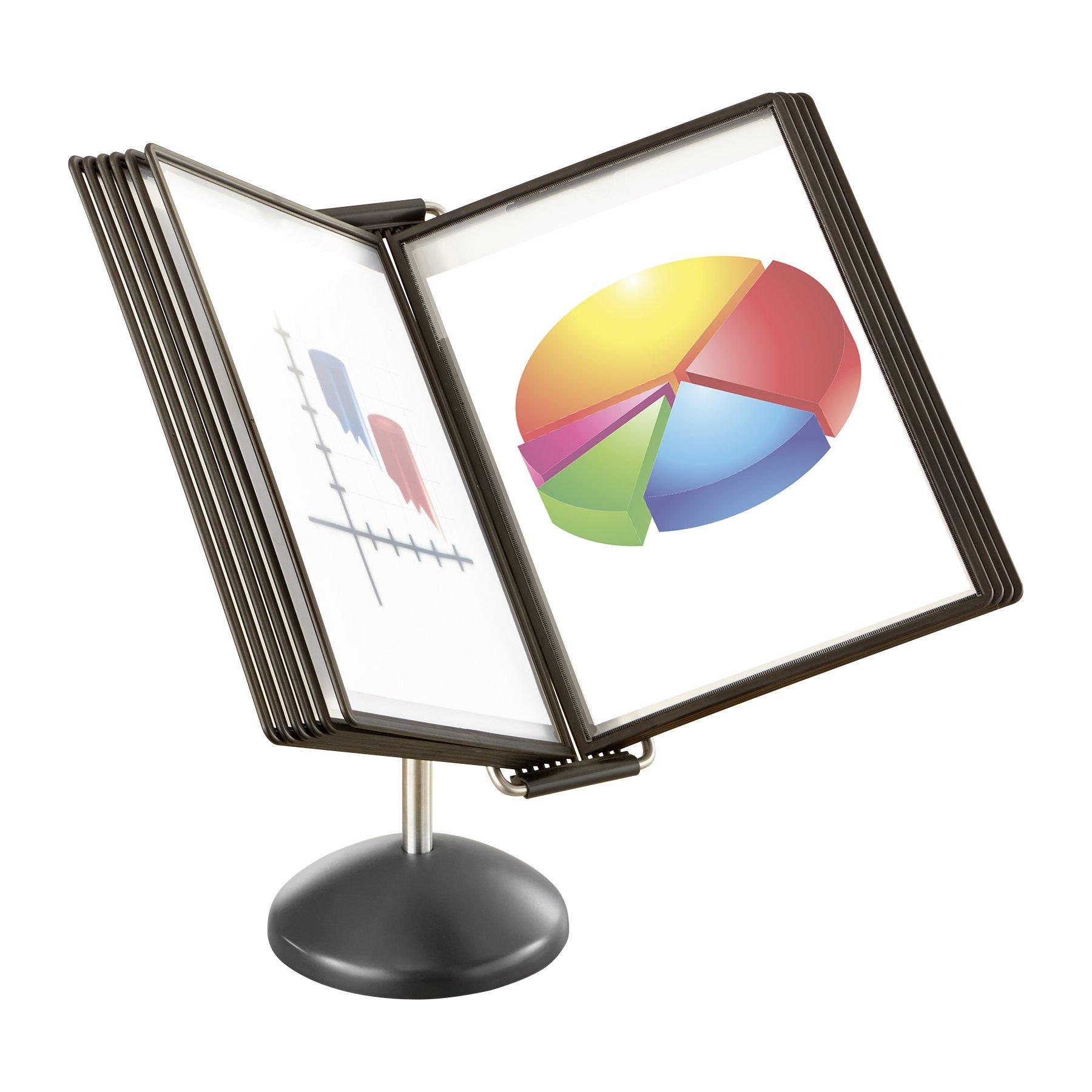 Safco Ultimate Desktop Reference, 20 1/4'' x 18 1/4'' x 14 1/2''