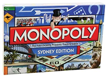 1bae16cb23b Monopoly Sydney Monopoly Board Game  Amazon.com.au  Toys   Games