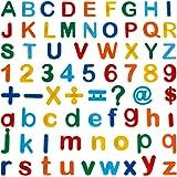 Anpro 90 Pezzi Giocattoli Educativi Lettere e Numeri Magnetici per Bambini,Lettere Magnetiche per educare i Bambini