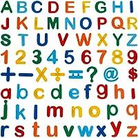 Anpro 90pcs Letras y números magnéticos imanes Letras