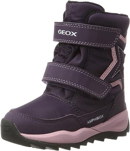 Geox J Orizont B ABX C Bottes de Neige Fille