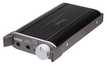 TEAC HA-P50-B - Amplificador para auriculares (USB, DAC), color negro: Amazon.es: Electrónica