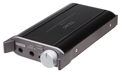 amazon com teac fba_ha p50 b portable headphone amplifier ha p50