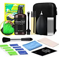 Cleaning Kit for Laptop,PC TV Screen Microfiber Cleaning Cloth Swabs & Case for Electronic Devices, Camera Lens Cleaning…