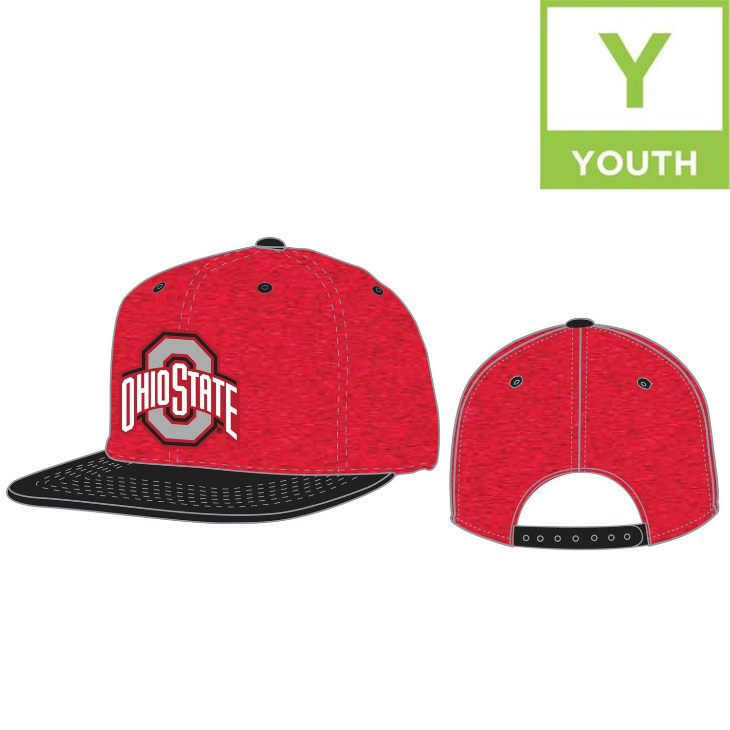 promo code 6d57f 5a148 Top of the World Ohio State Buckeyes Official NCAA Adjustable Youth Energy  1 Hat Cap Flat Bill 206325  Amazon.com.au  Sports, Fitness   Outdoors