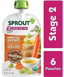 Sprout Bolsas de alimentos orgánicos para bebé ...