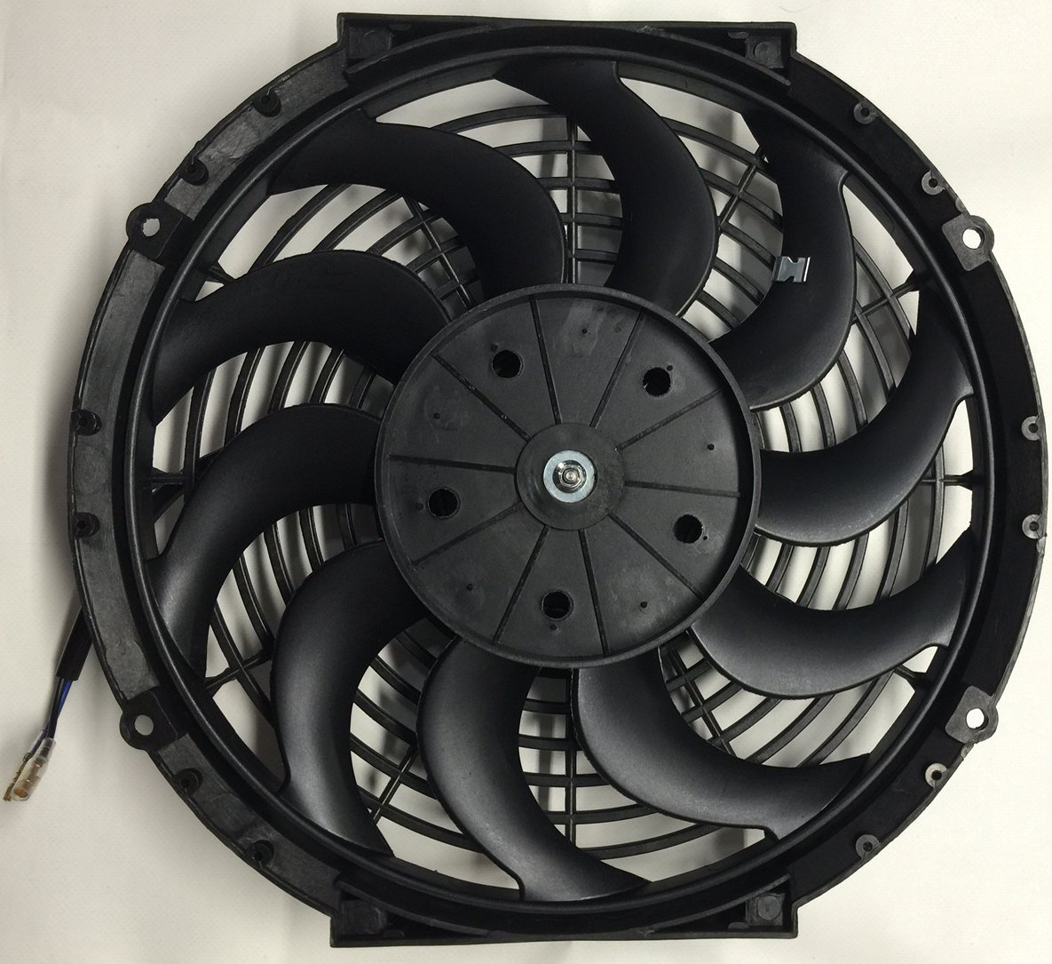 Pro Comp 12 Inch Electric Cooling Automotive Radiator Pusher Ac Fan Wiring Curved Volt