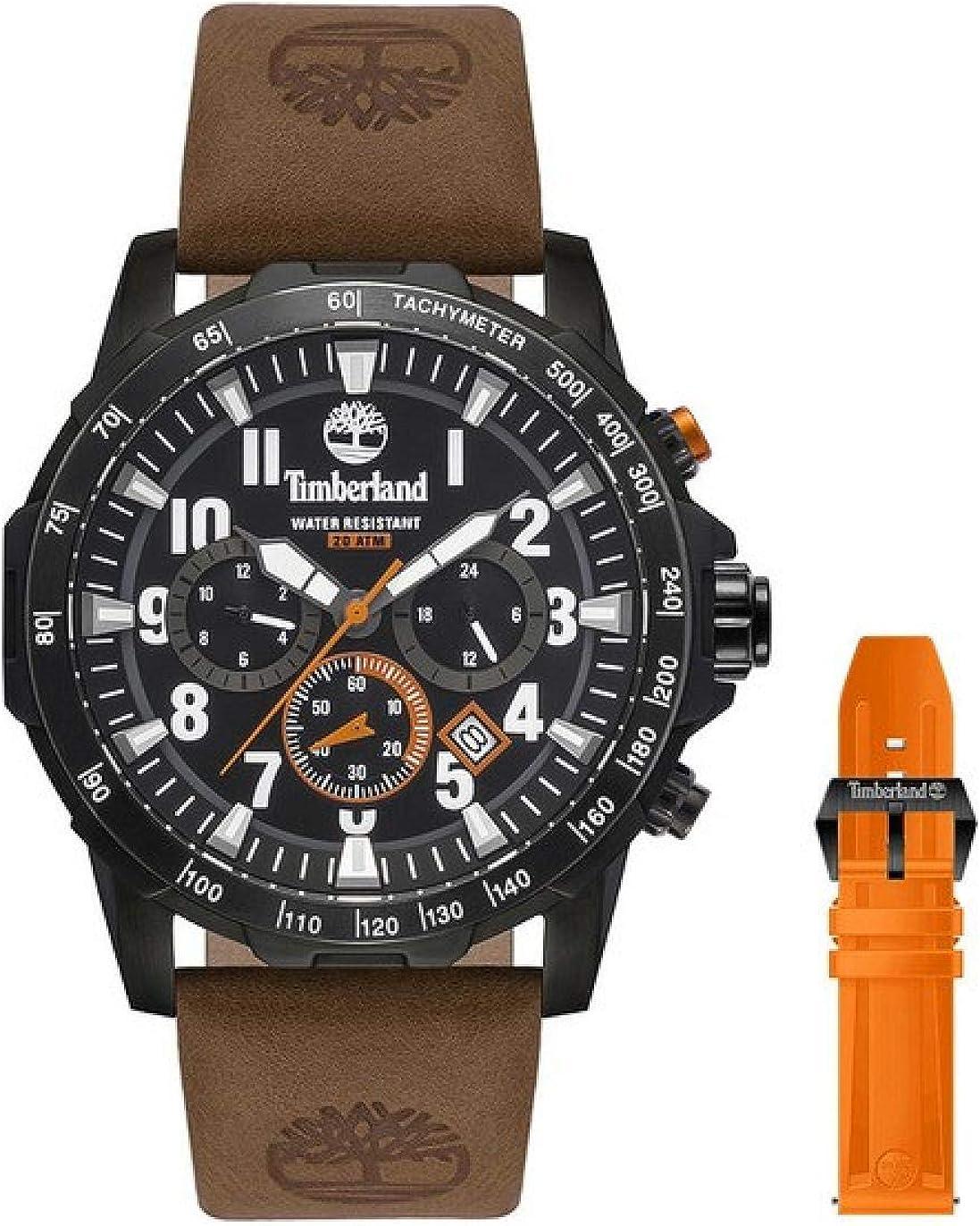 TIMBERLAND Westford Black/BRONW-Orange 15547JSB-02AS
