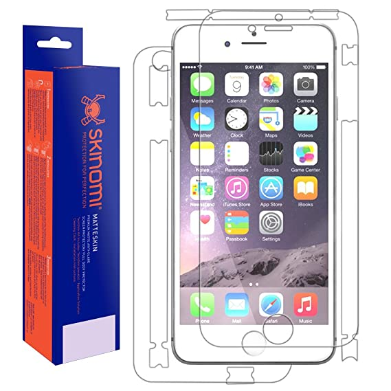 brand new 594b7 d0820 Amazon.com: iPhone 6 Plus Screen Protector + Full Body (Apple iPhone ...