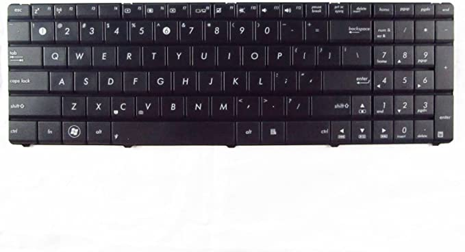 NEW for ASUS G72 G72GX G73 G73JH Series laptop black Keyboard chiclet