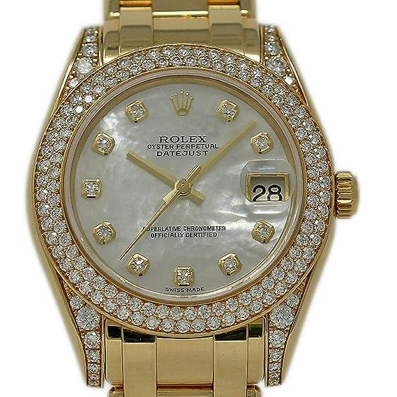 Rolex Masterpiece Reloj Suizo automático Femenino 81358 (Certificado prepropietario)