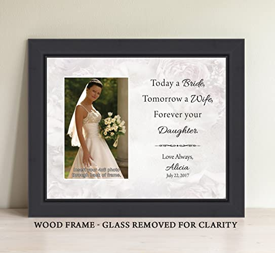 amazon com parents of the bride gift personalize today a bride