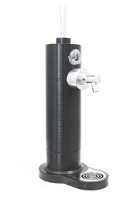 Minitirador de cerveza de Richard Bergendi Black Edition - Dispensador Doméstico de Cerveza para Cañas