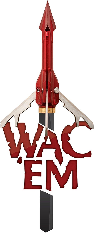 WAC /'em Acier 3 lame 100 Grain extensible-S-3100