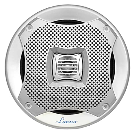 amazon lanzar 5 25 marine 2 way speakers water resistant 4 Ohm Receiver amazon lanzar 5 25 marine 2 way speakers water resistant audio stereo sound system with 400 watt power attachable grills and resin treatment for