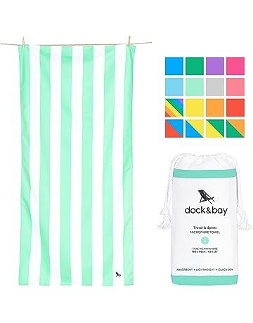 Dock & Bay Toallas de Microfibra para Playa y Viajes con bolsita