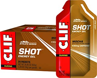 product image for Clif, Shot Energy Gel Mocha Organic 1.2 Ounce, 24 Count