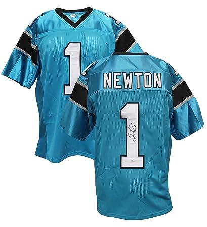 Authentic Cam Newton Autographed Custom Jersey Carolina Panthers QB ... a24f3ad0f