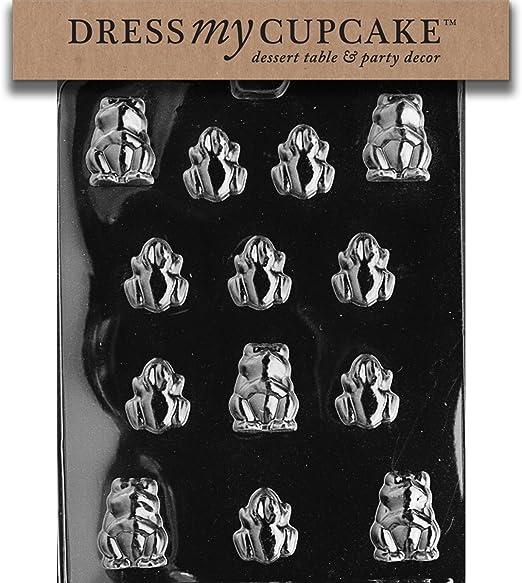 Frog Dress My Cupcake DMCA126 Chocolate Candy Mold