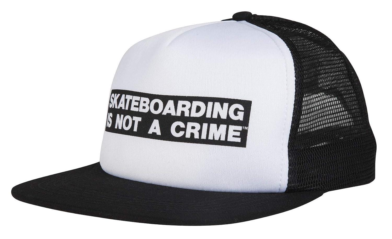 Santa Cruz Gorra Camionero Not A Crime Blanco-Negro (Default ...