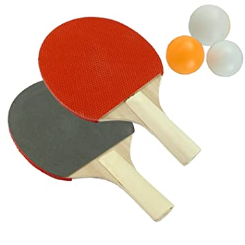 Table Tennis Ping Pong Set - Bats And Balls Set  sc 1 st  Amazon UK & Table Tennis Ping Pong Set - Bats And Balls Set: Amazon.co.uk ...