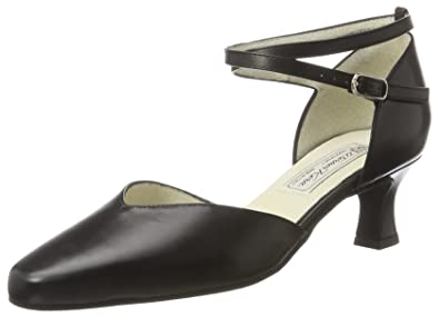 Werner Kern - Damen Tanzschuhe Betty 5,5 Nappaleder (UK 2 | EUR 34